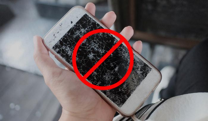 Не работает экран на телефоне