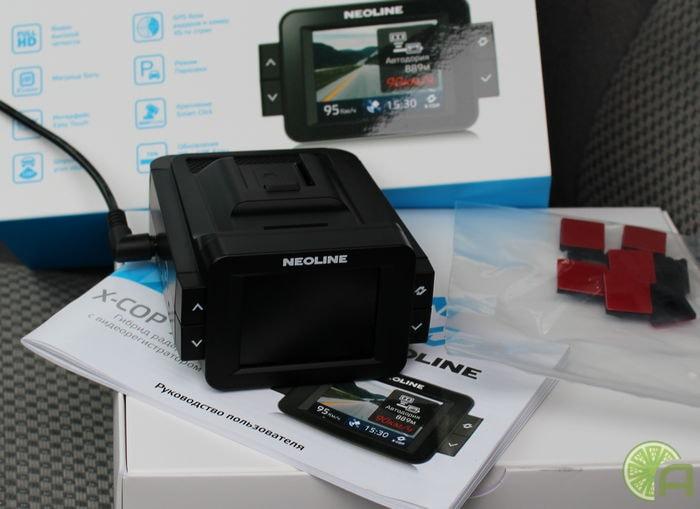 Комплектация Neoline X-COP 9000с