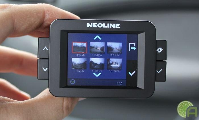 Интерфейс Neoline X-COP 9000с