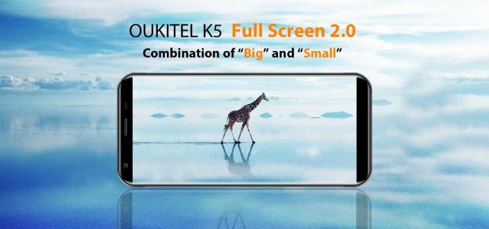Oukitel K5