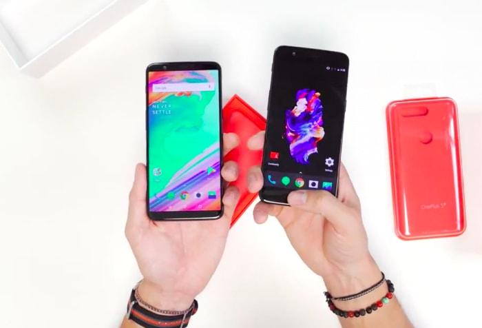 OnePlus 5 и OnePlus 5T