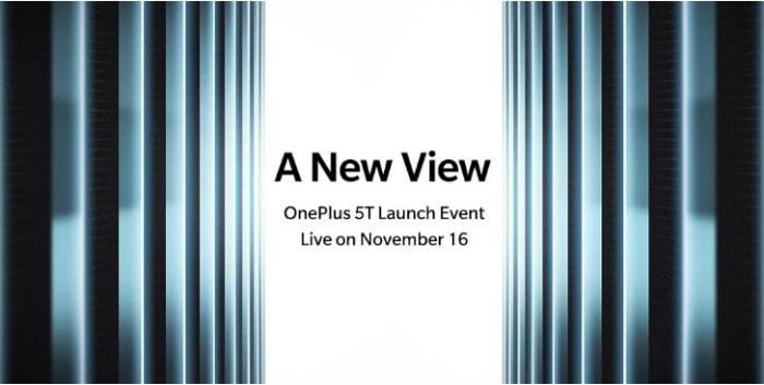 приглашение на презентацию OnePlus 5T
