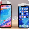 OnePlus 5T иiPhone X