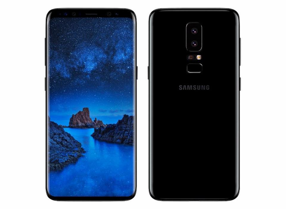 Рендер Galaxy S9