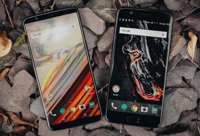 OnePlus 5T и OnePlus 5