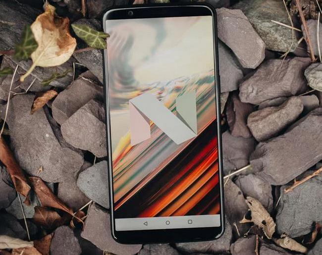 Android Nougat на OnePlus 5T