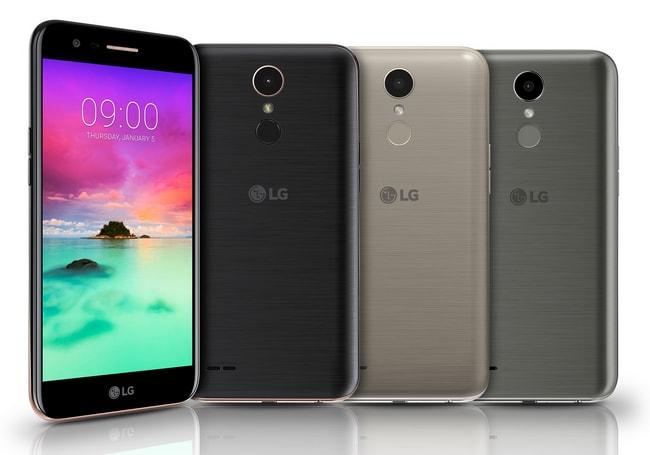 LGпредставит новый смартфон среднего сектора К10 ксередине зимы 2018