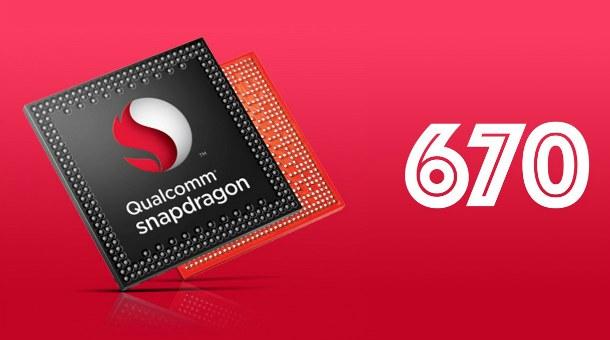 Компоненты: Qualcomm Snapdragon 670— чипсет для телефонов среднего класса