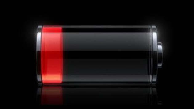 Разряженная батарея
