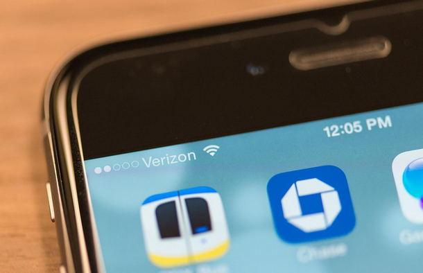 Уровень сигнала сети на смартфоне
