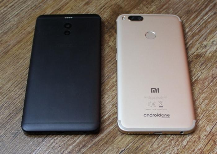 Meizu M6 Note и Xiaomi Mi A1