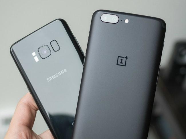 OnePlus 5 и Galaxy S8
