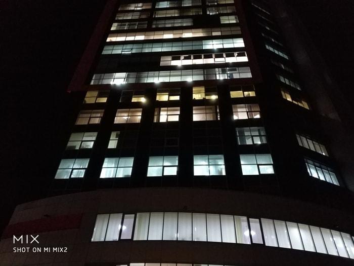 Фото ночью на Xiaomi Mi Mix 2