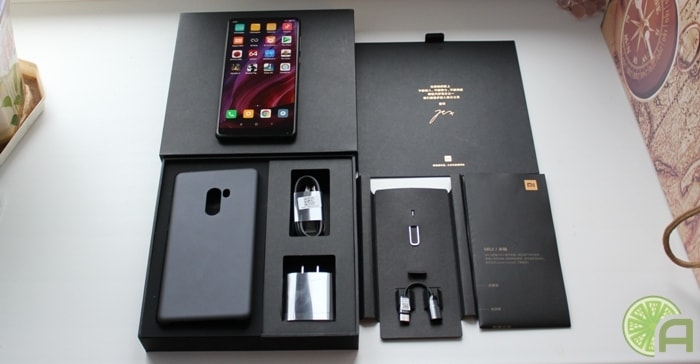 Коробка Xiaomi Mi Mix 2