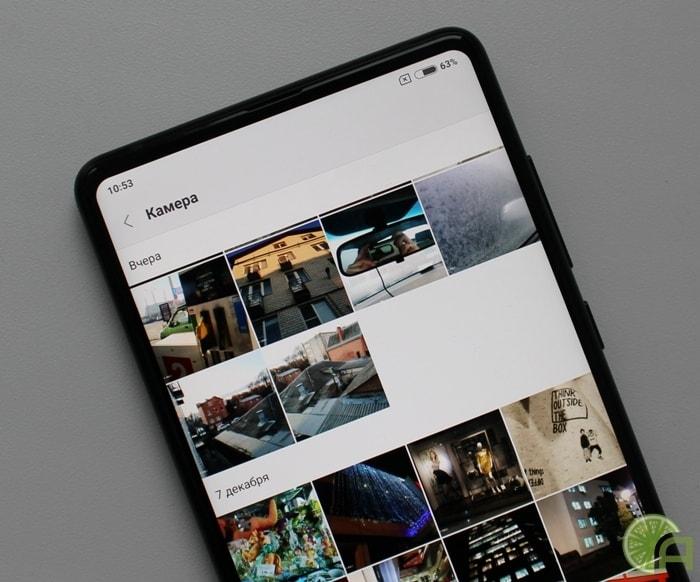 Рамки Xiaomi Mi Mix 2