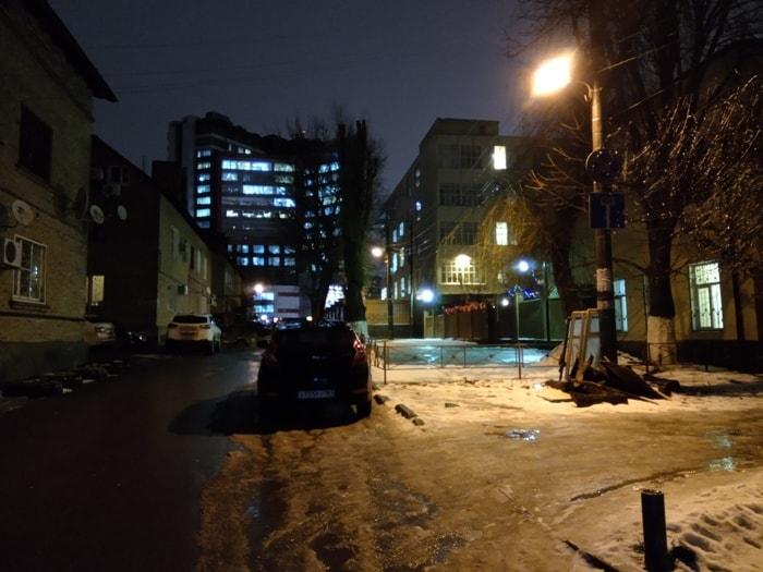 Ночное фото на BQ Aurora