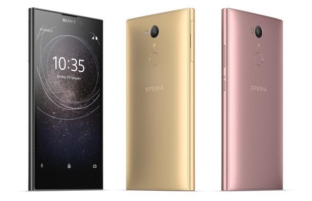 Сони  представила смартфон Xperia L2 начального уровня