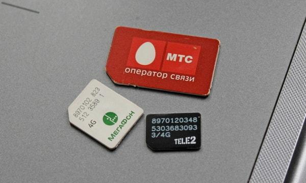 mini-SIM, micro-SIM и nano-SIM