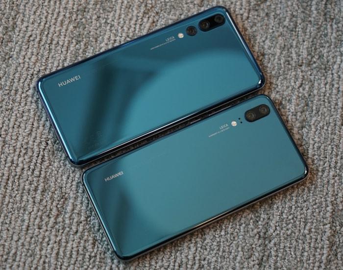 Huawei P20 Pro и Huawei P20