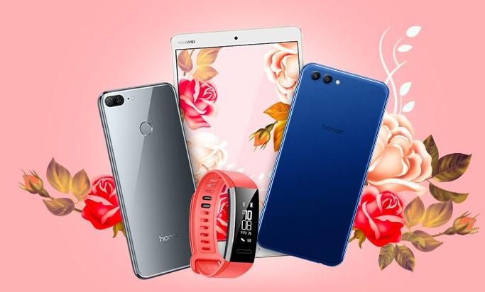Акция Huawei на 8 марта