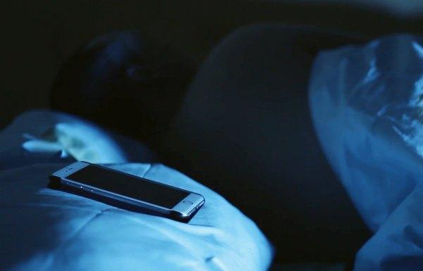 Выключение смартфона на ночь