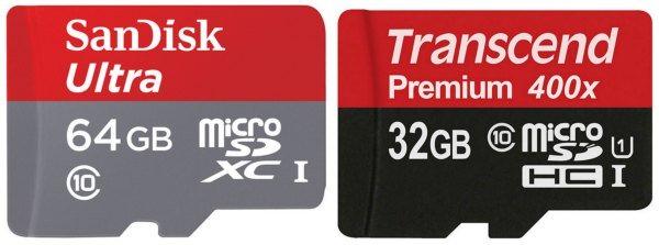 MicroSDHC и MicroSDXC