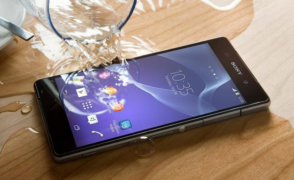 Sony Xperia Z2 защита IP68