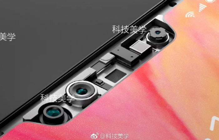 3d-датчик камеры Xiaomi mi8