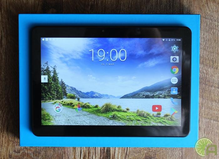 Экран TurboPad 1016