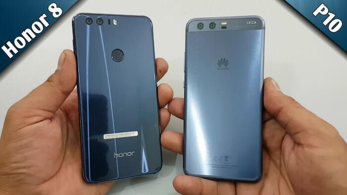 Huawei P10 и Honor 8