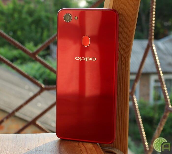 Красный OPPO F7
