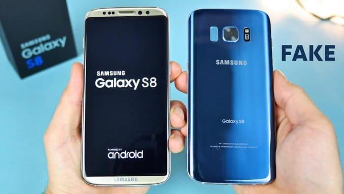 Подделка Samsung Galaxy S8