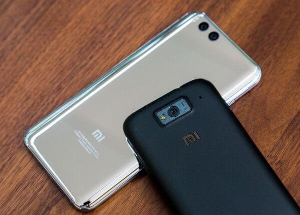 Xiaomi Mi6 и Xiaomi Mi1