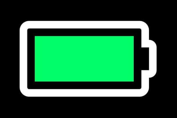 Полный заряд батареи