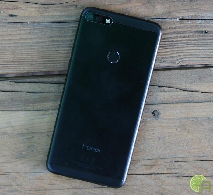 Черный Honor 7C Pro