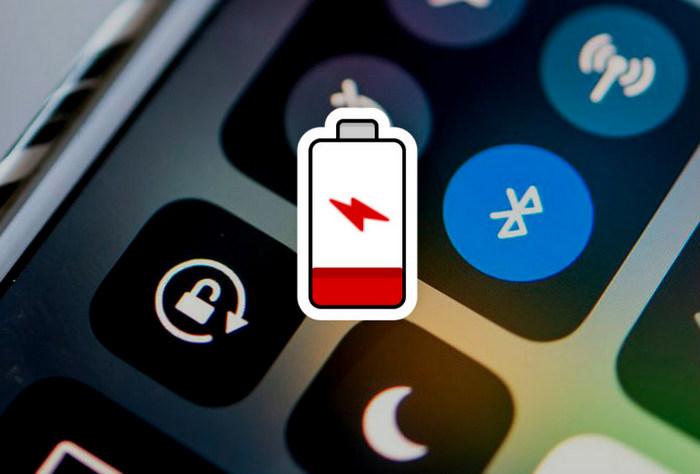 Bluetooth разряжает батарею смартфона