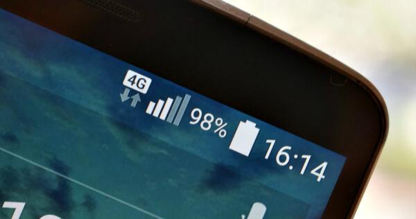 4G на смартфоне