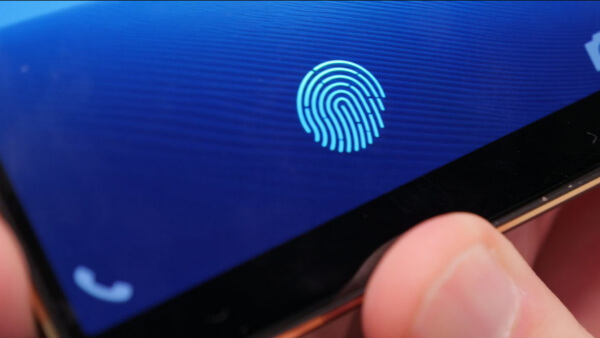 Экранный сканер отпечатка пальцев