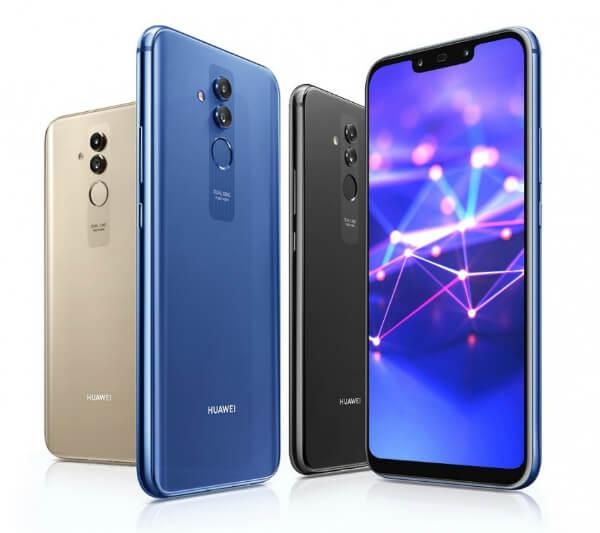 Четыре Huawei Mate 20 lite