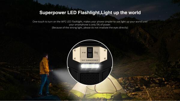LED подсветка Oukitel WP2