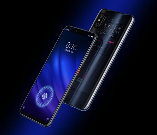 Черный Xiaomi Mi 8 Pro