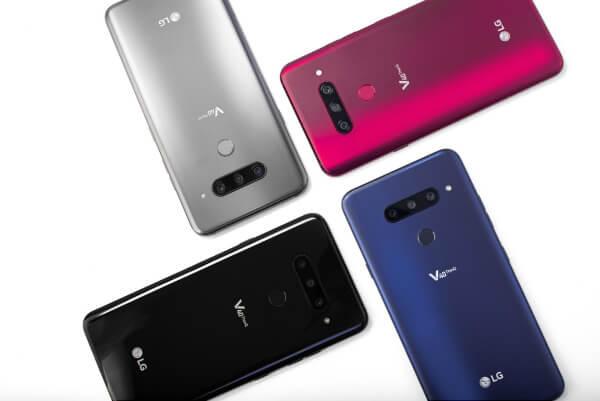 Четыре LG V40 ThinQ