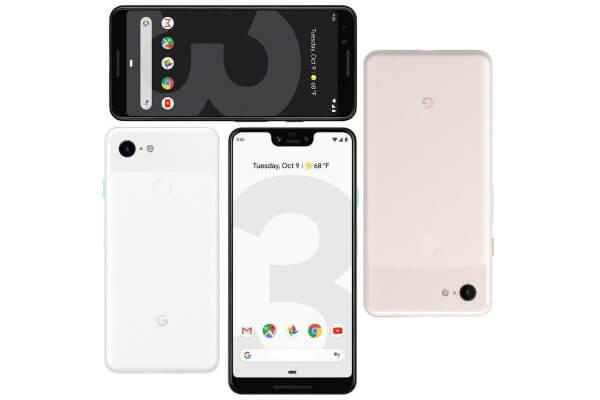 Несколько Google Pixel 3 и Pixel 3 XL