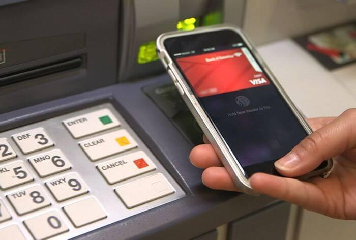 Банкомат с NFC