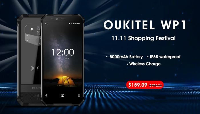 Oukitel WP1 распродажа на Alixpress