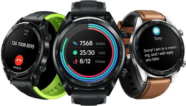 Три Huawei Watch GT