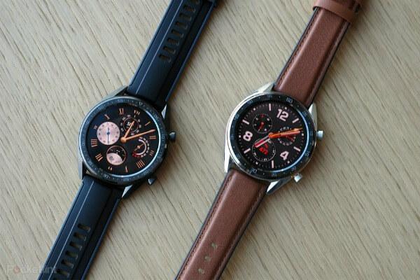 Два Huawei Watch GT