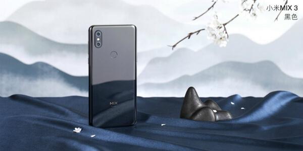 Xiaomi Mi Mix 3 черный