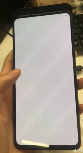 Xiaomi Mi Mix 3 живое фото