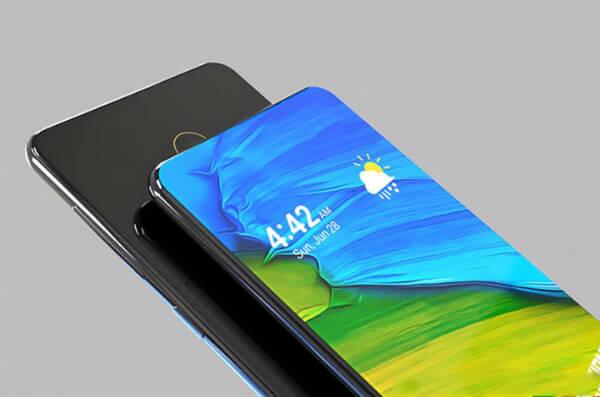 Xiaomi Mi Mix 3 спереди и сзади